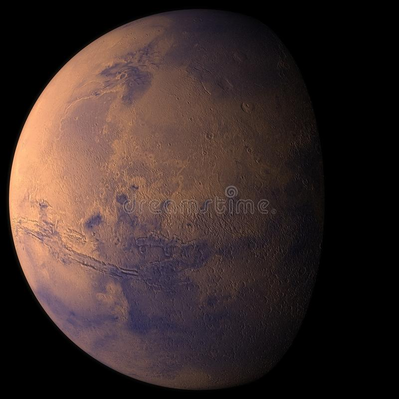 Planeet Mars stock foto