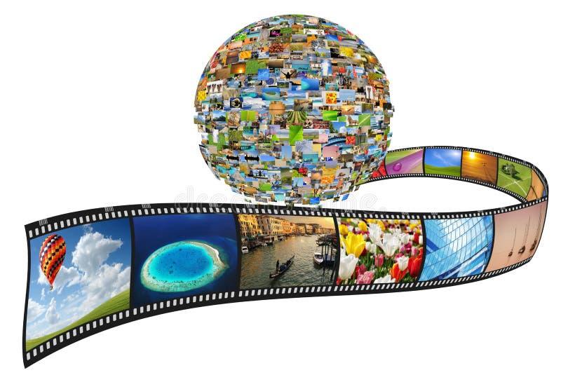 Planeet van beelden vector illustratie