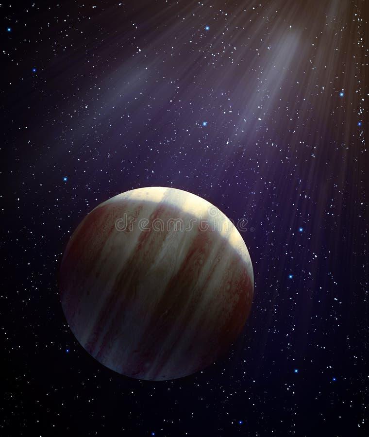 Planeet X vector illustratie