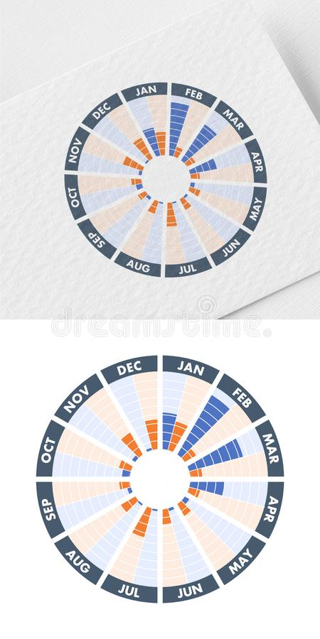 Planera en säsongsbetonad marknadsföra aktion eller säsongsbetonade händelser och , illustration stock illustrationer