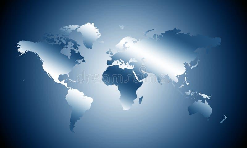 planera världen stock illustrationer