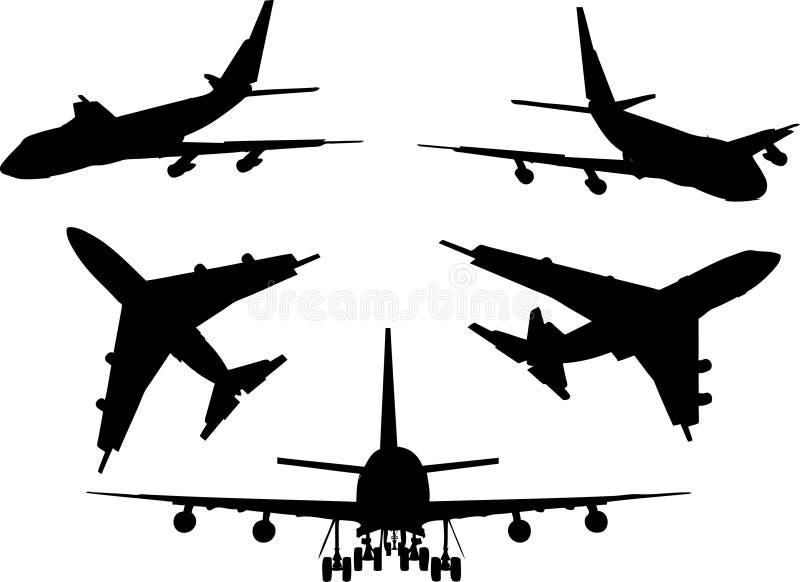 Planes royalty free illustration