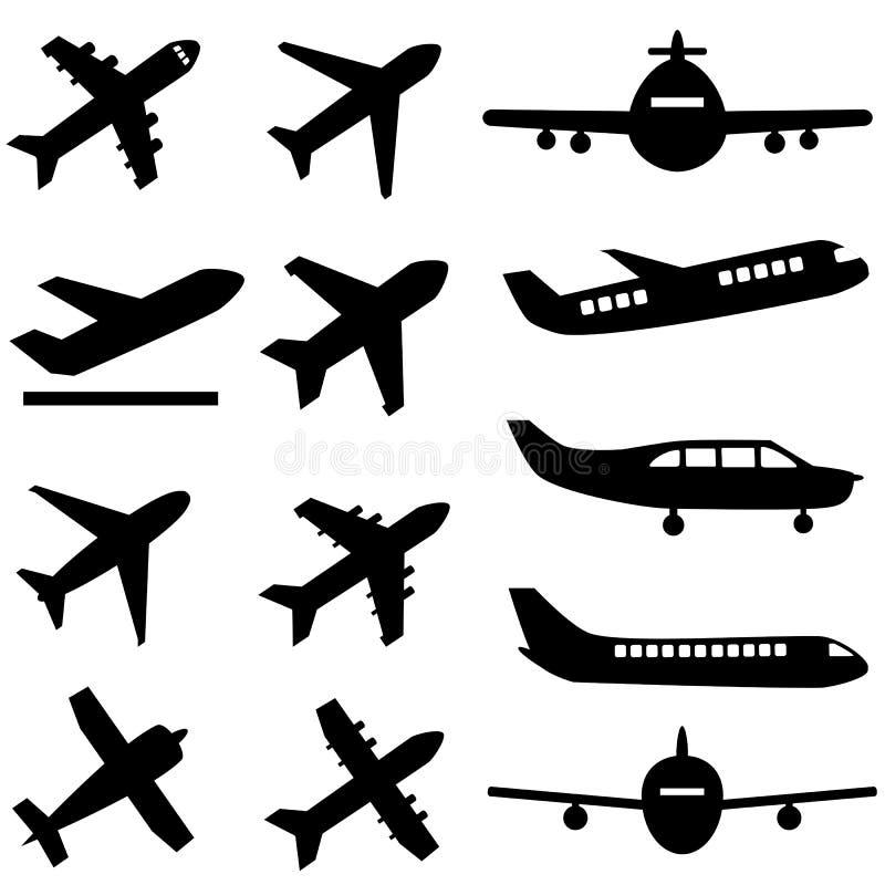 Planes In Black Stock Photo