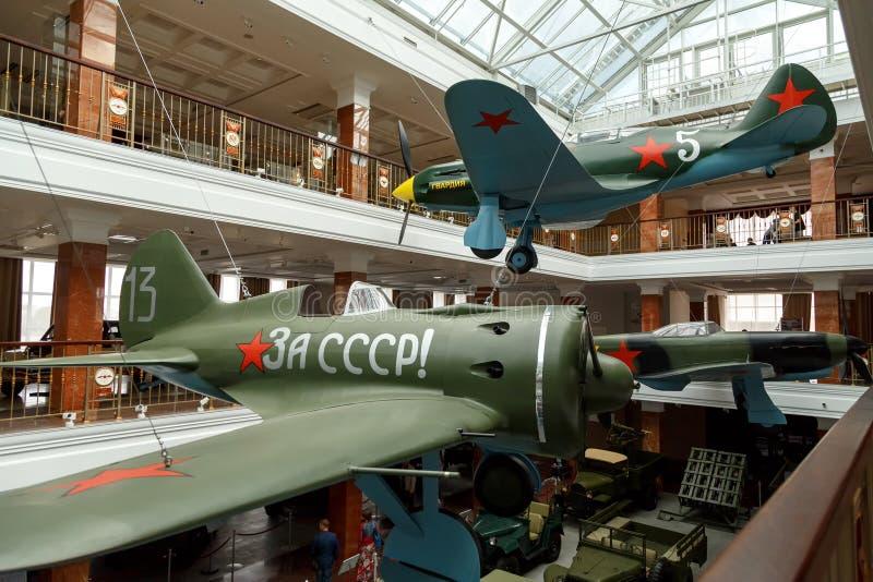Planes in the museum. Pyshma, Ekaterinburg, Russia - August 16, stock photos
