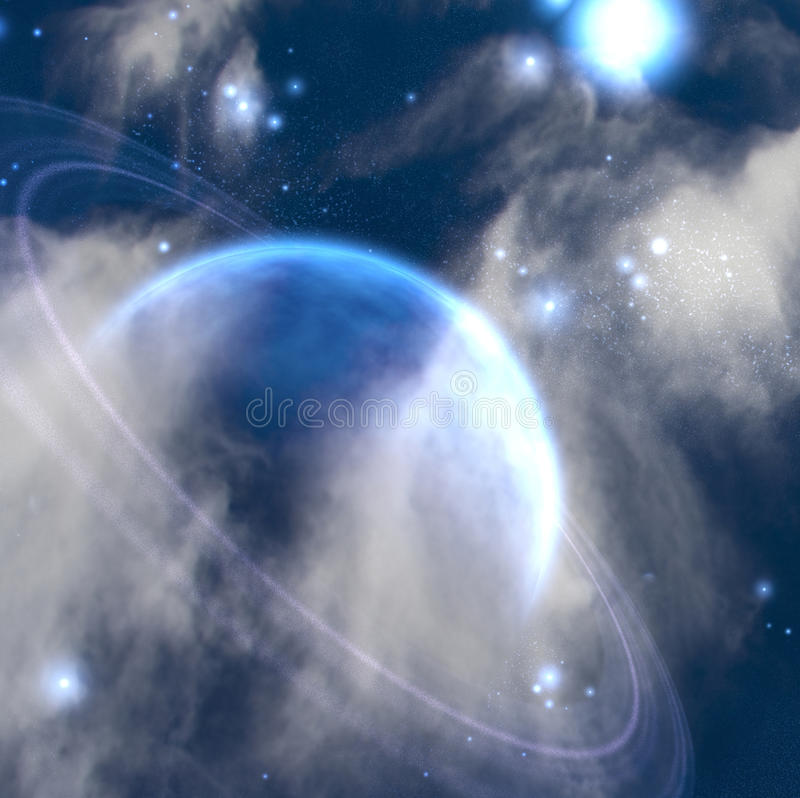 Planet vektor abbildung