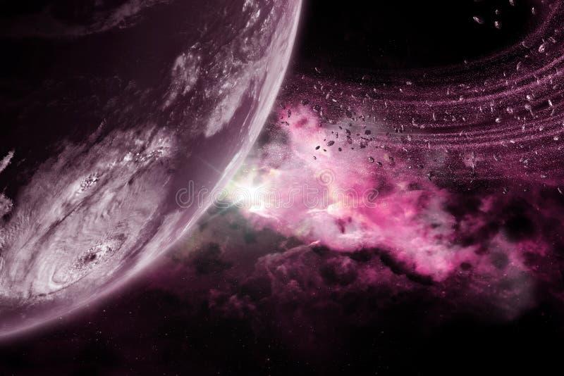 Planet #2 royalty free illustration
