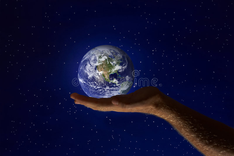 Download Planet stock image. Image of force, earth, finger, guard - 2541739