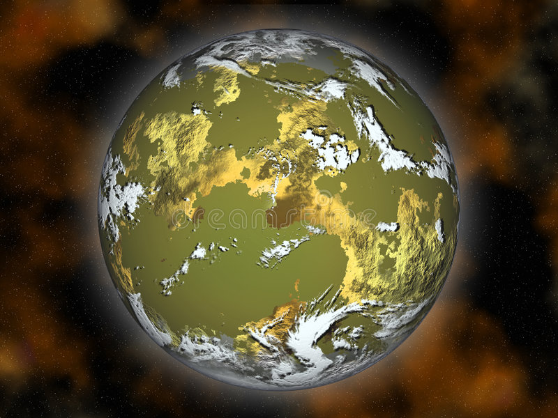Download Planet. stock illustration. Image of dimensional, copy - 7000352