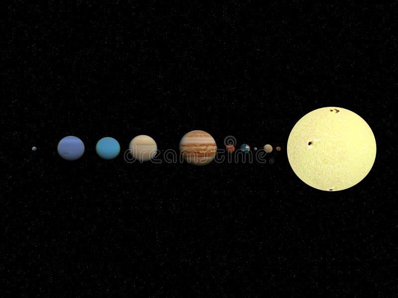 Planet lizenzfreie abbildung