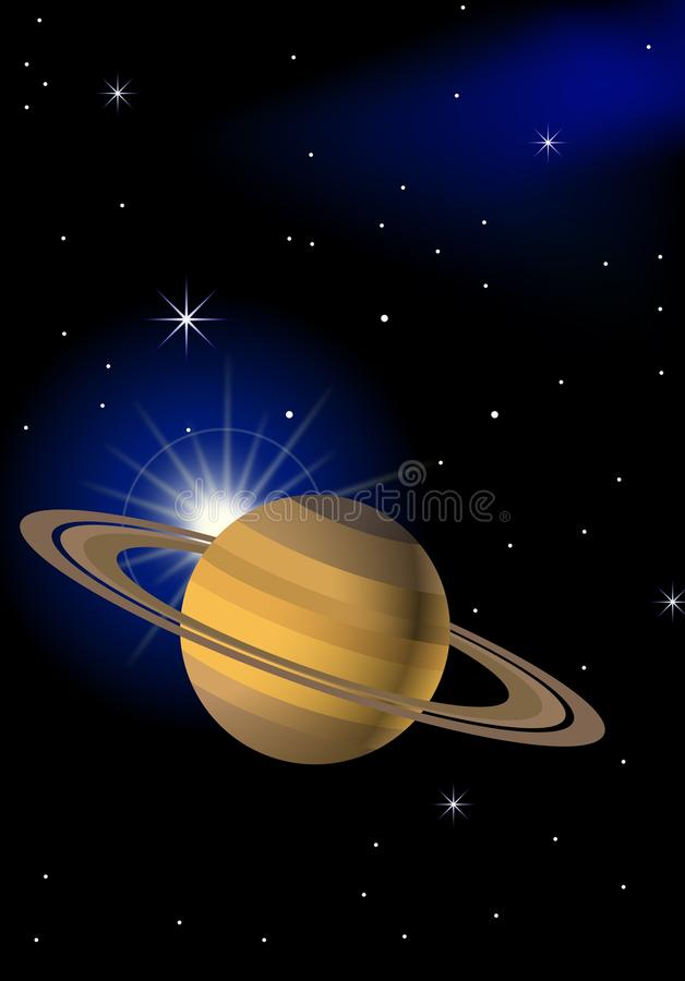 Planet Background Royalty Free Stock Images
