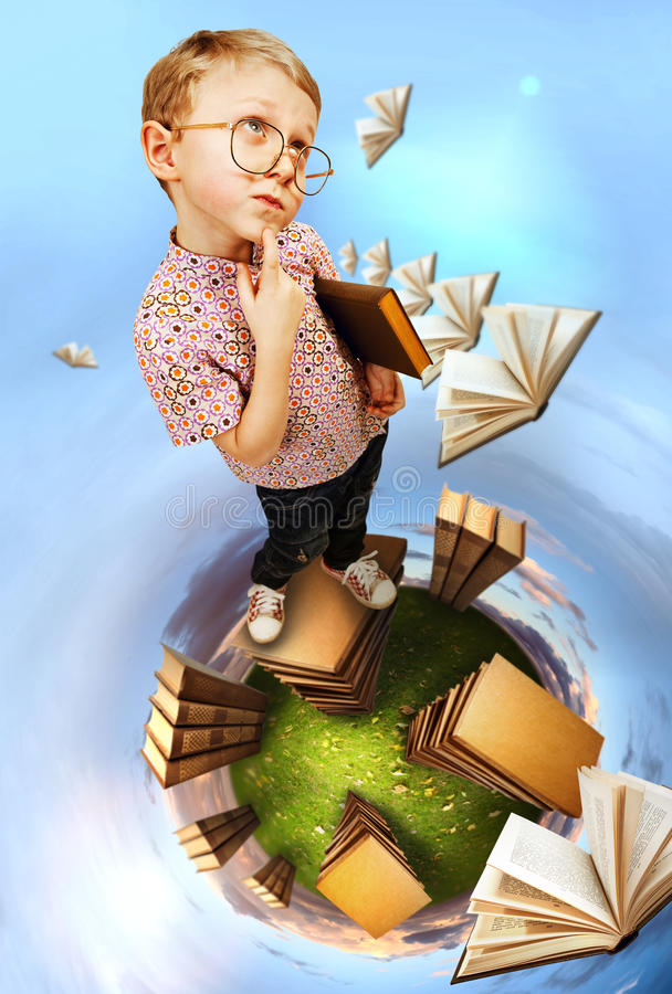 On the planet of book stock photos