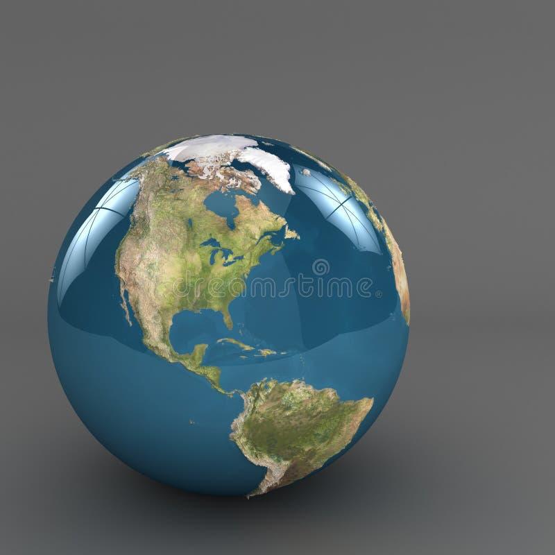 Planet earth stock illustration