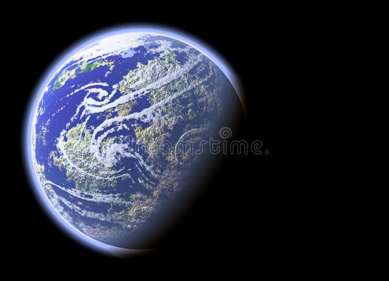 Download The planet Earth stock illustration. Image of background - 1868918