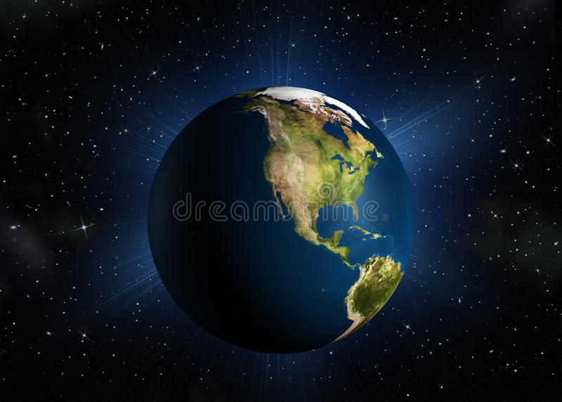 The Planet Earth Royalty Free Stock Photos