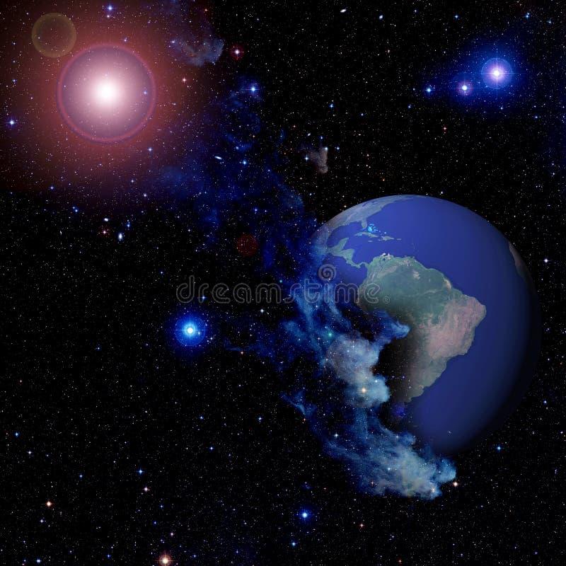 Download Planet earth stock illustration. Illustration of africa - 6986919