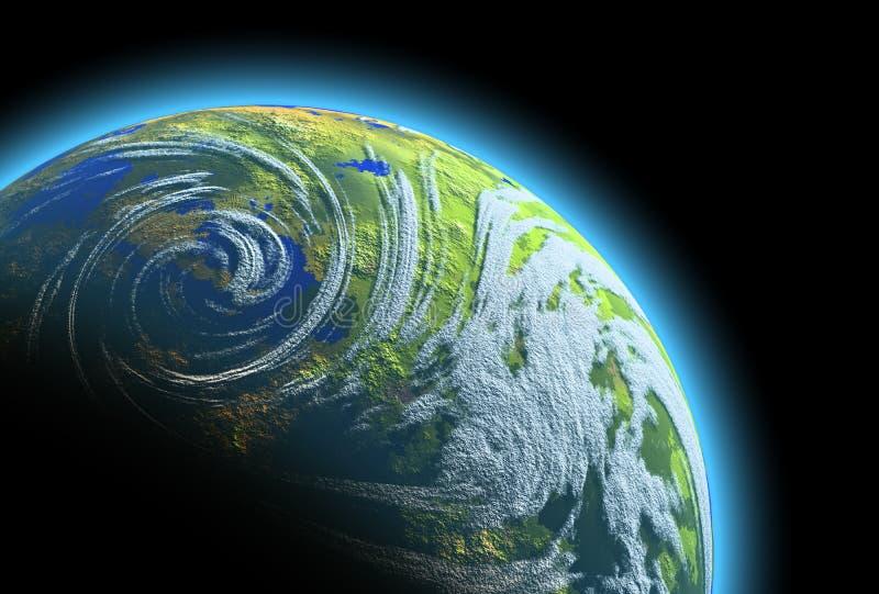 Download Planet Earth stock illustration. Illustration of blue - 8733532