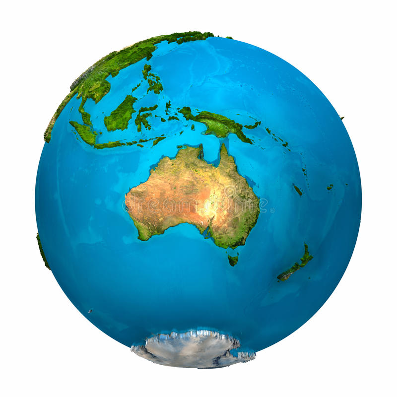 Download Planet Earth - Australia Royalty Free Stock Photography - Image: 17658517