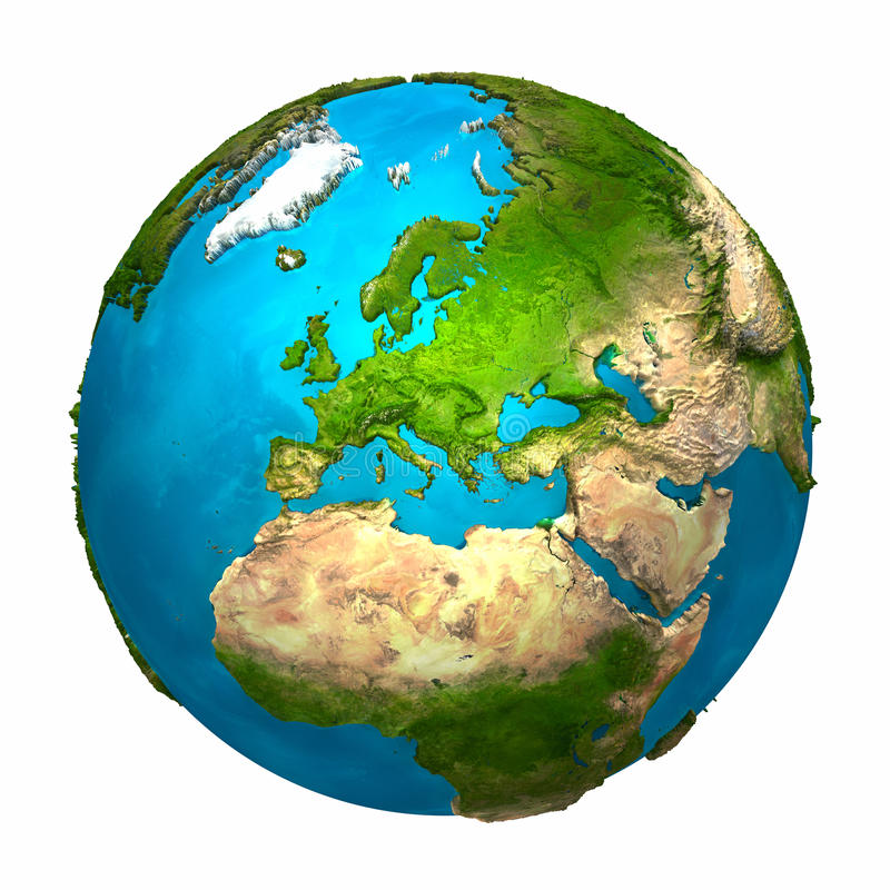 Download Planet Earth - Europe Royalty Free Stock Images - Image: 17658209