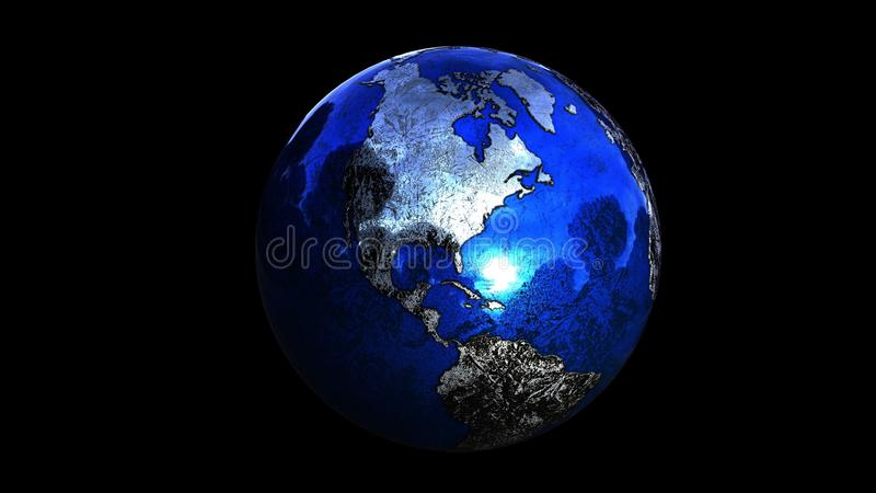 Planet, Earth, Globe, Atmosphere royalty free stock images