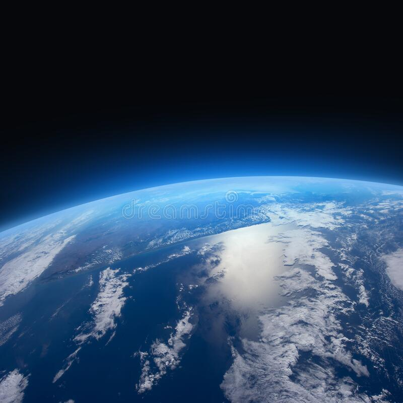Free Planet Earth In The Space Royalty Free Stock Photos - 170639278