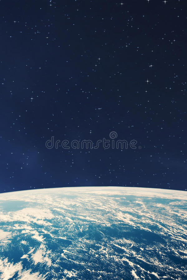 Planet earth from the space at night. Some elements of this image are furnished by NASA stock images