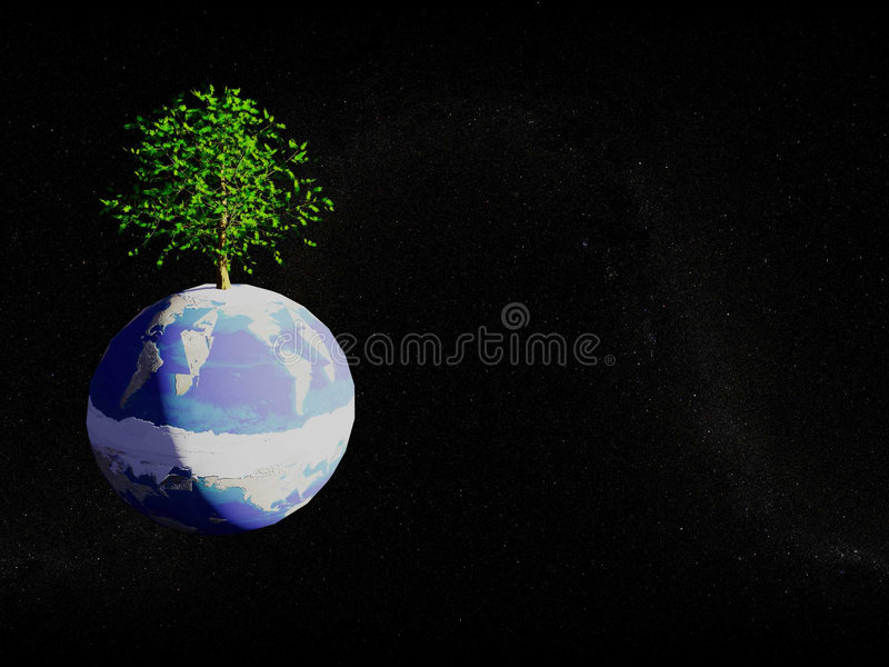 Planet Environment royalty free stock images