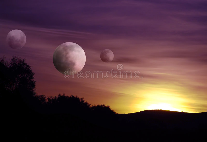 Download On A Planet Far Away Stock Photos - Image: 171223