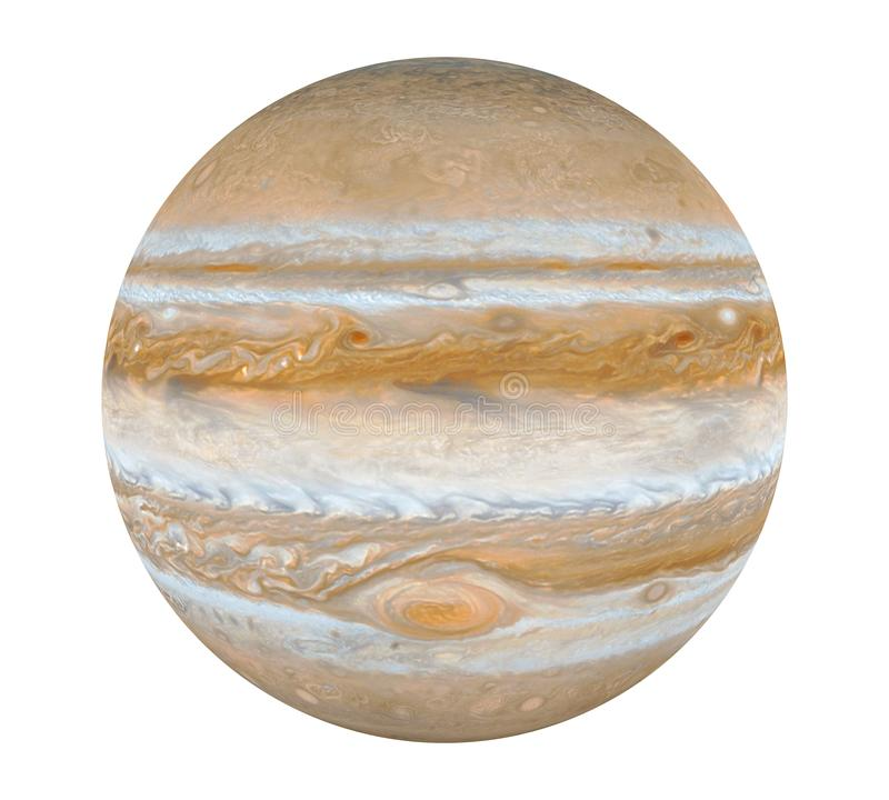 Planet Jupiter Isolated lizenzfreie abbildung