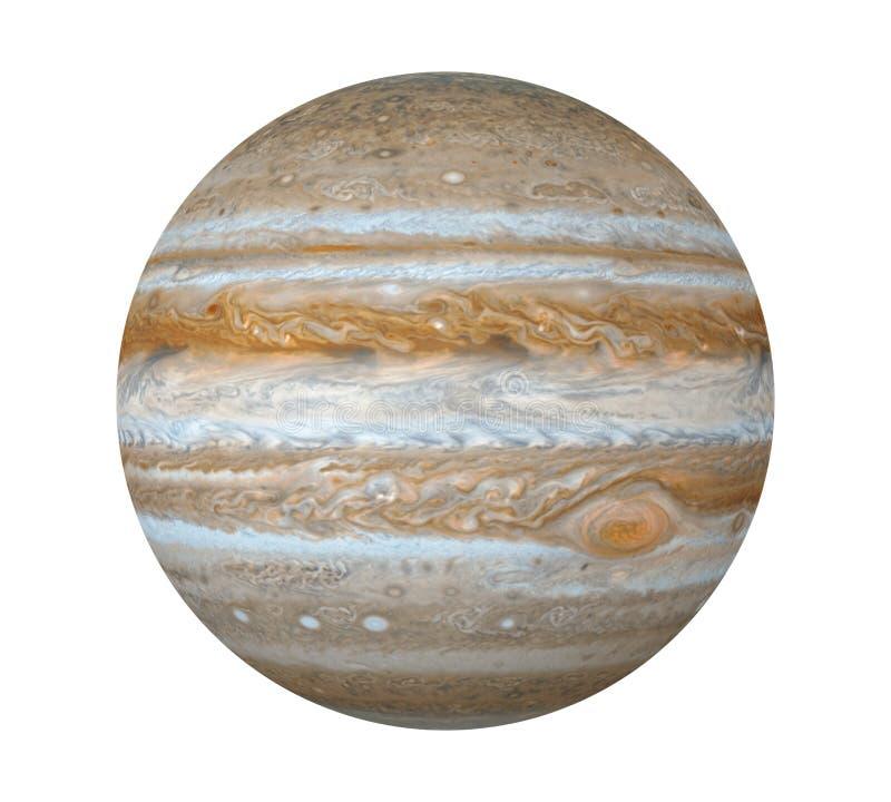 Planet Jupiter Isolated Elements av denna bild som möbleras av NASA vektor illustrationer