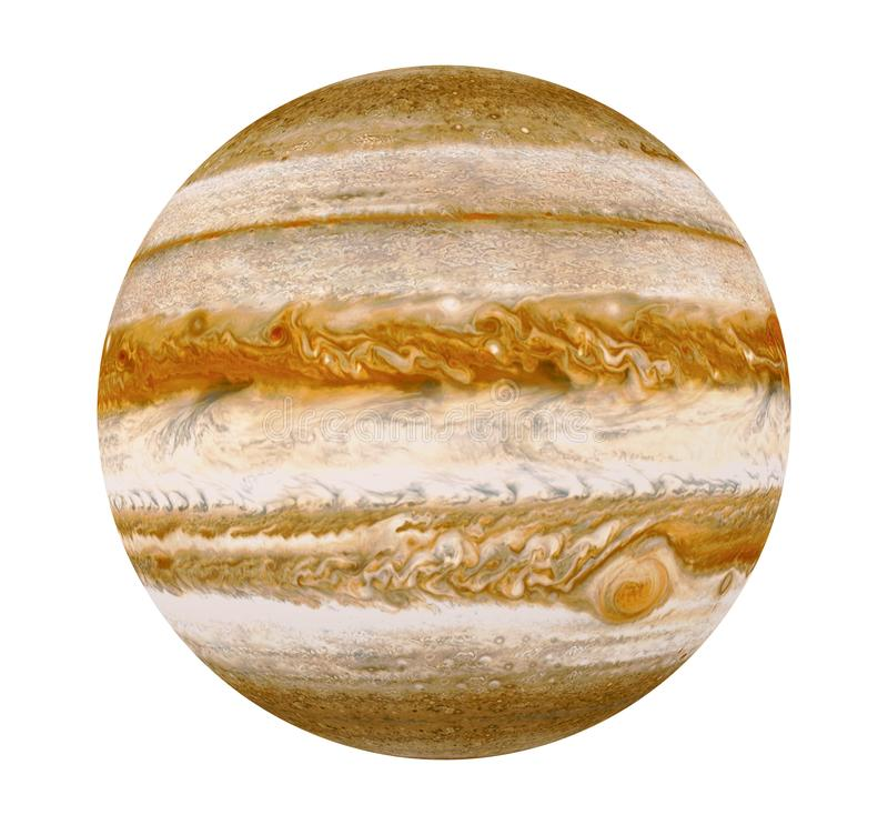 Planet Jupiter Isolated Elements Of This Image Furnished
