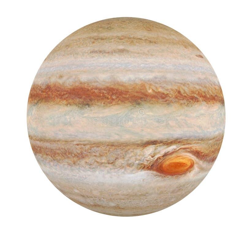 Planet Jupiter isoliert vektor abbildung