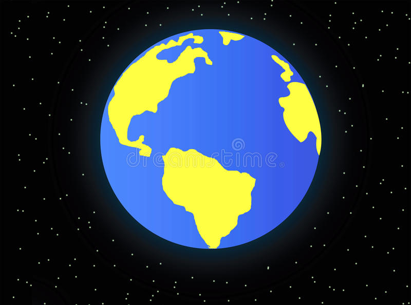 Planet Land Stock Images