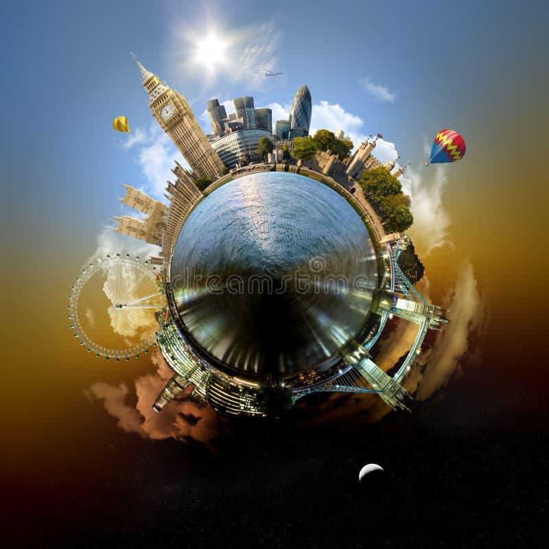 Planet London stockfotos