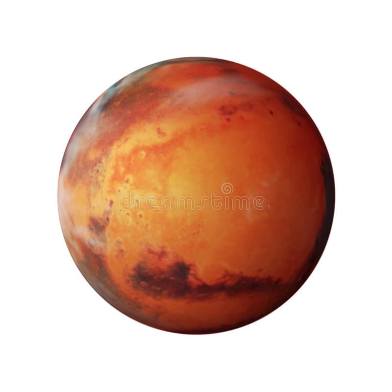 Planet Mars stock illustration