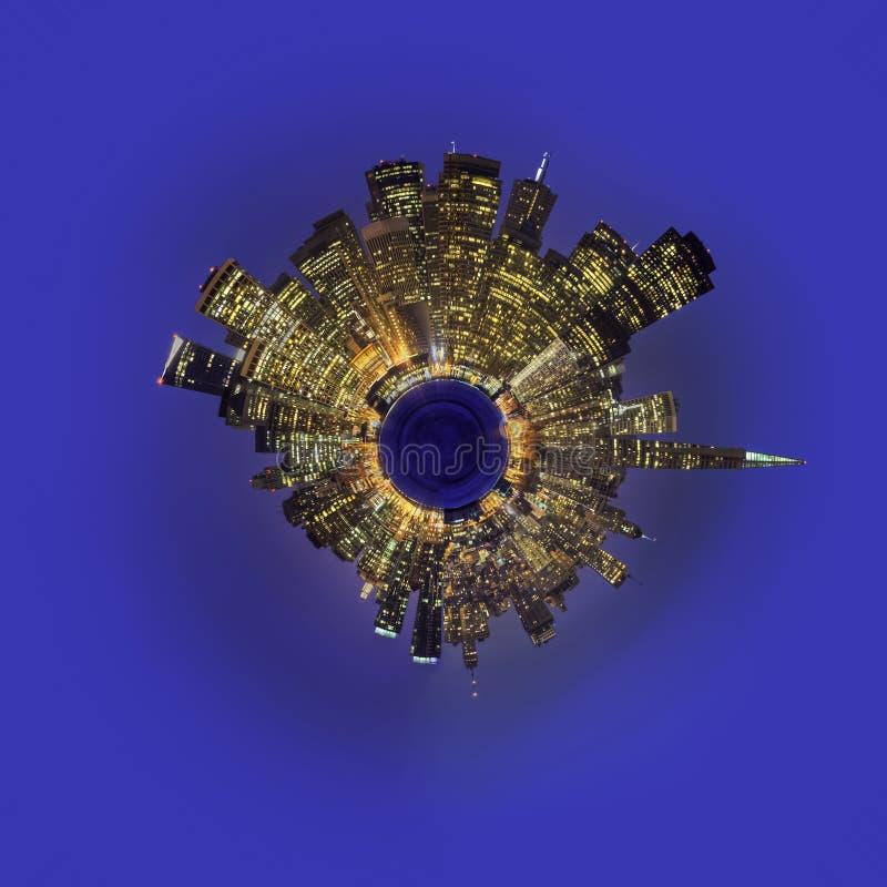Planet San Francisco stock photo