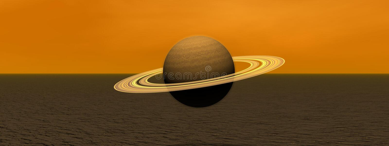 Download Planet saturn stock illustration. Image of saturn, circle - 24337260