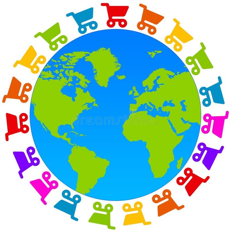 Planet Shopping Stock Image