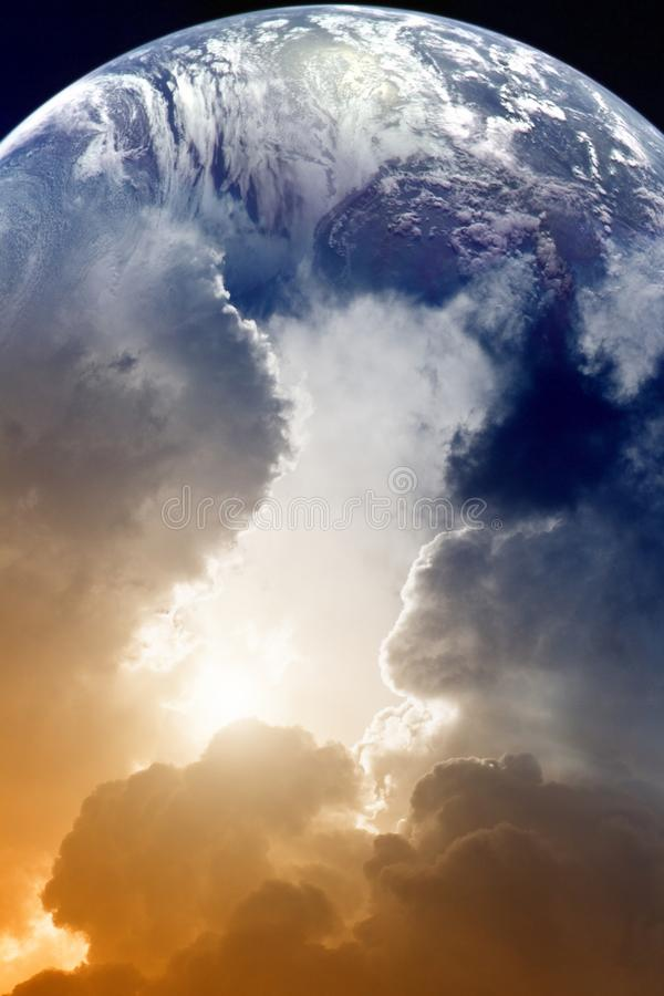 Download Planet in sky stock photo. Image of beautiful, hope, orbit - 20464182