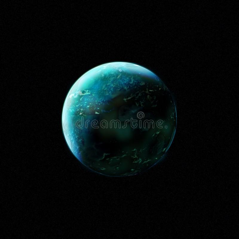 Planet, Turquoise, Atmosphere, Earth stock photos