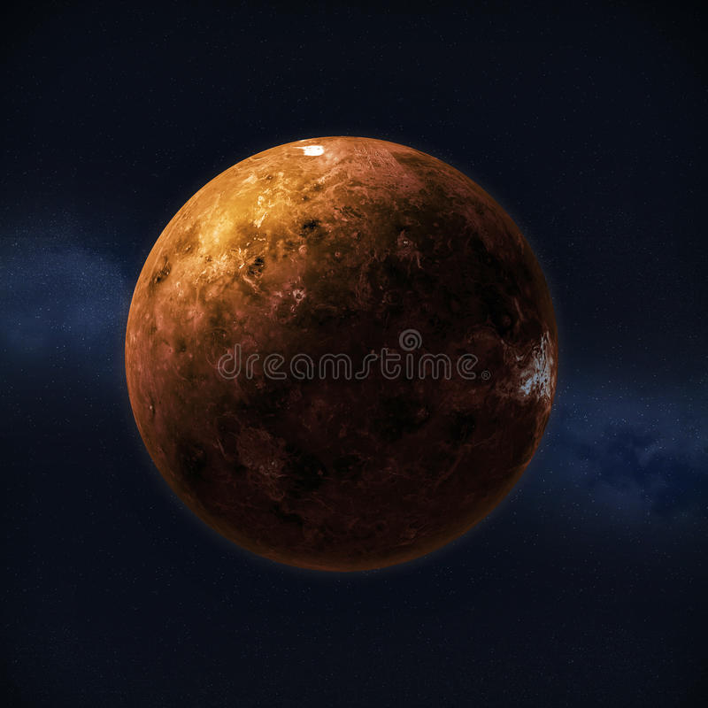 Planet Venus vektor illustrationer