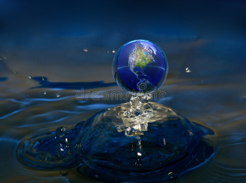 Download Planet water stock photo. Image of ocean, reflex, blue - 2003870