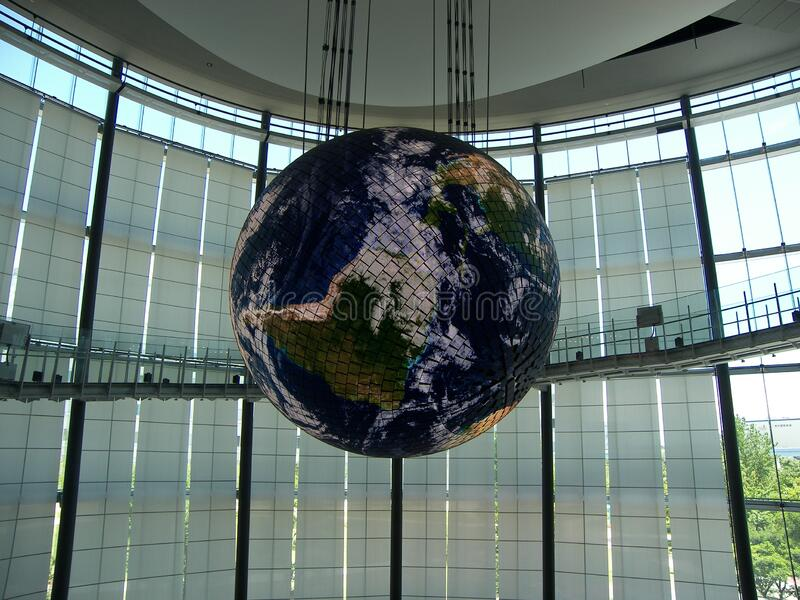 Planet world globe earth. The planets world featuring planet world globe earth stock photos