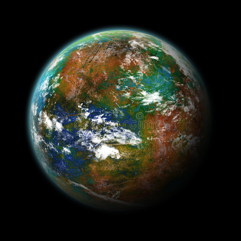 planeta royalty ilustracja