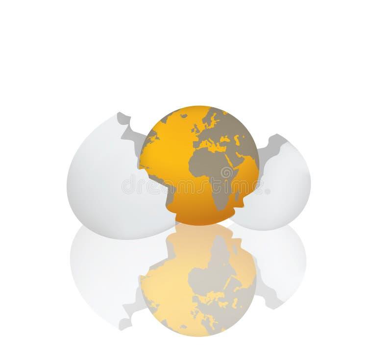 Planeta ilustração stock
