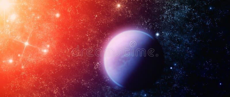 Planeta abstracto ilustración del vector