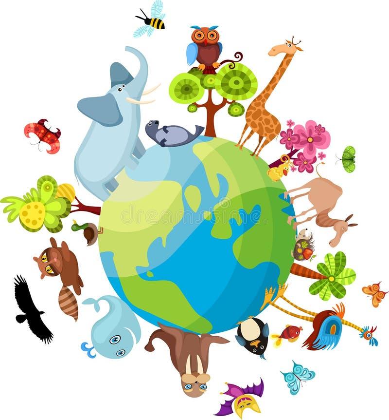 Planeta Animal Fotos de Stock Royalty Free