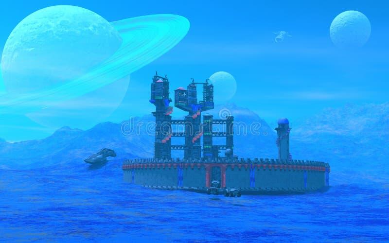 Planeta azul imagen de archivo