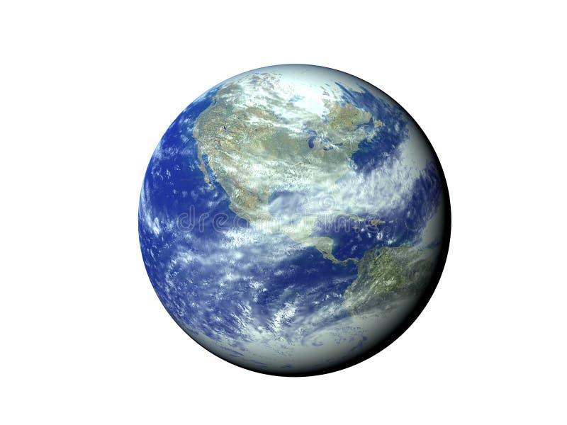 Planeta azul foto de archivo libre de regalías