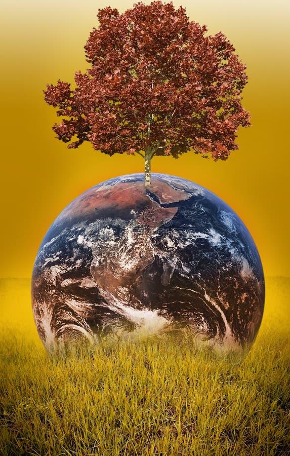 Planeta CALIENTE fotografía de archivo libre de regalías