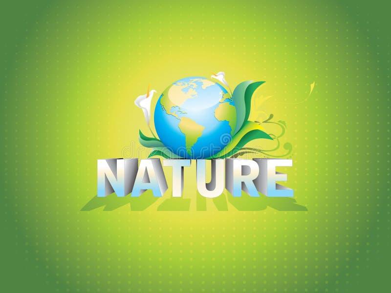 Planeta da natureza ilustração do vetor